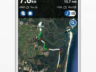 Android & iOS Boat Logging App