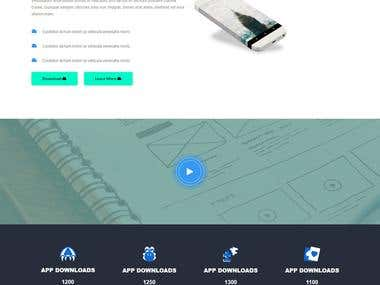 Created by Irin Shahriar_ landing pages