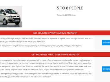 Tours & Travels Booking (Wordpress Plugin)