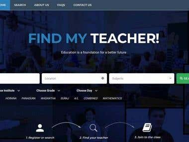 FMT - Platform To Meet Teachers & Students