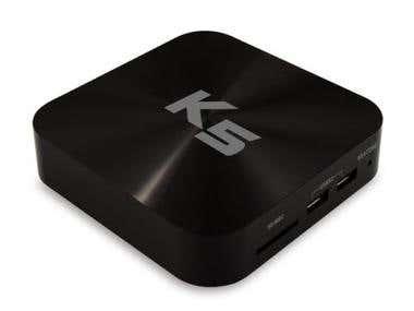 Source TV box for America client
