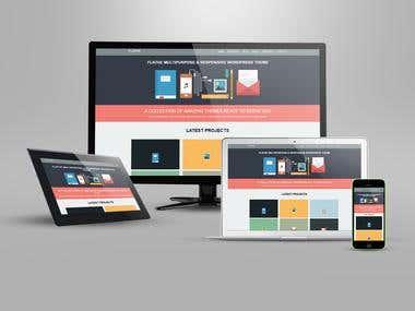 web page designed
