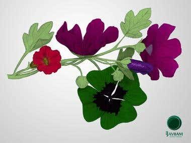 Papel Flowers