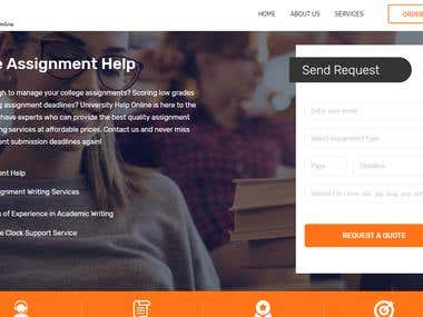 Online Assignment Website | University Help Online