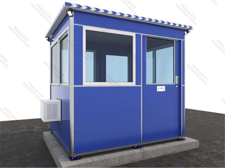 3D Booth exterior | Freelancer