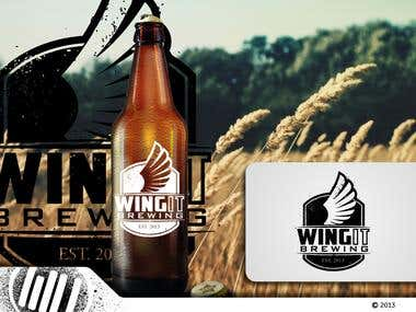 WingIt Brewing Logo