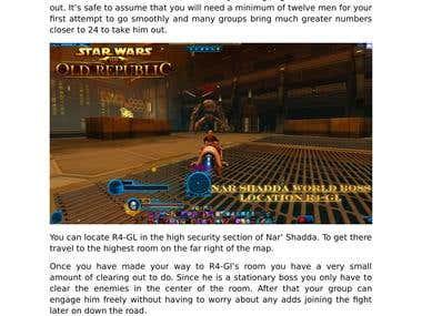 SWTOR Battledroid R4GL World Boss Guide
