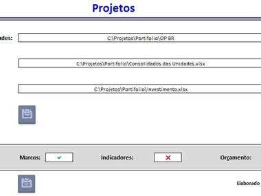 Consolidação de Projetos