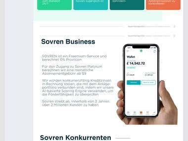 SOVREN - ICO ANN / Twitter / Whitepaper Translation EN > DE