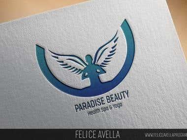 Logo Paradise Beauty