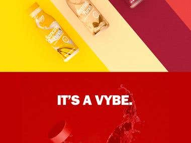 Vybe Punches Identity Design