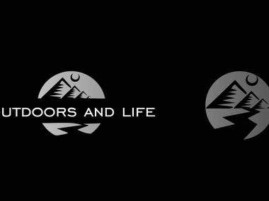 Logo Outdoors and Life
