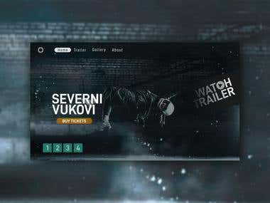 SEVERNI VUKOVI - movie landing page
