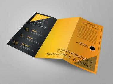 Trifold Brochure - Construction