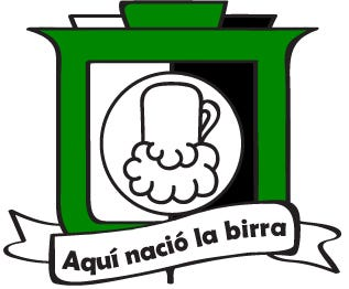 Logo Design for 'Aquí nació la birra'