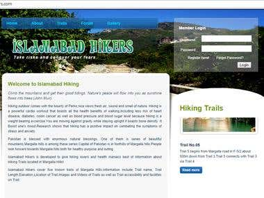 Islamabad Hiking Website (www.isbhikers.com)
