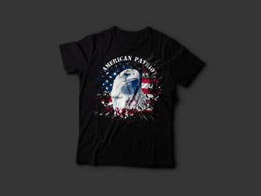 American Patriot: T Shirt Design