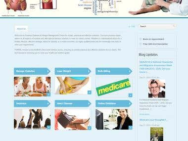 Joomla Website for Australian Dietitians