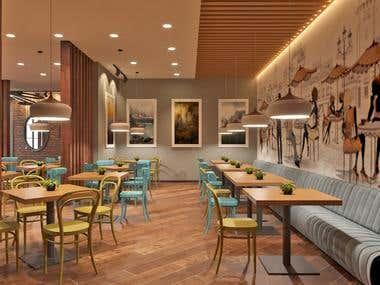 Design of a small restaurant