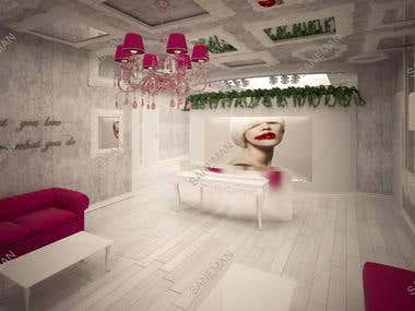 Beauty salon design