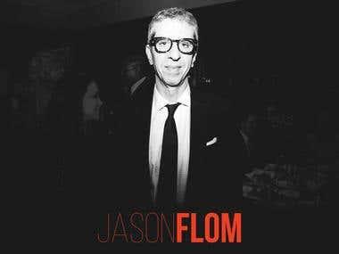 Jason Flom Logotype