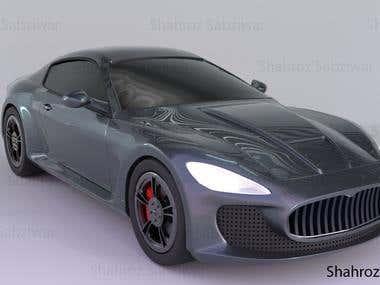 Automotive Maserati 3D model