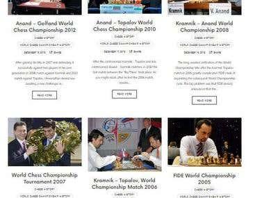 Chess Blog