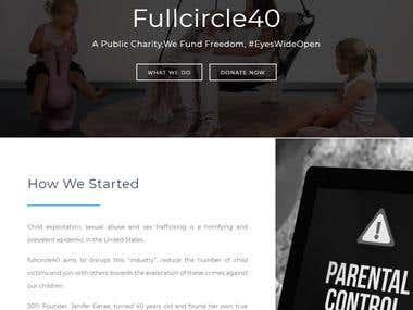 Website design for NPO