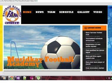 Football club adminstration