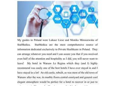 Article & Blog - Health
