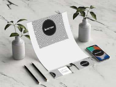 Branding Design For factory