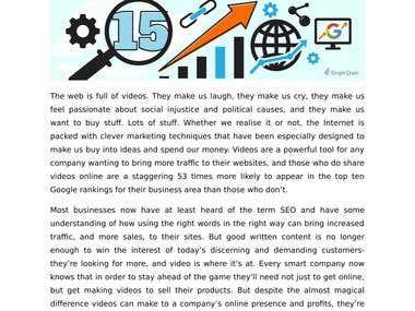 Article & Blog Writing- SEO