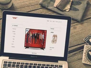Online shopping using Wordpress