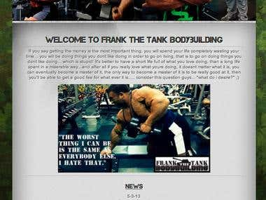 Bodybuilder Frank Mannarino