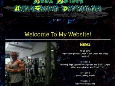 Bodybuilder Alex Kuieck
