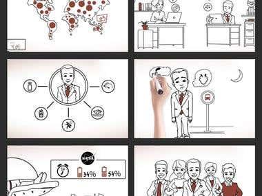 Corpnap Whiteboard Animation