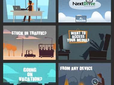 Next Drive Animation - Explainer Video