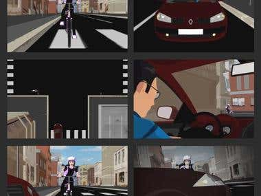 Schlaurs Bike 3D animation