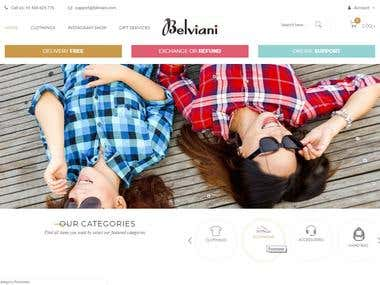 Belviani - WordPress - WooCommerce
