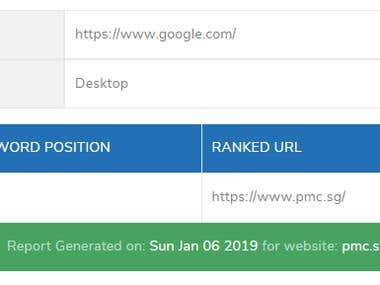 Pmc.sg Search Engine Optimization