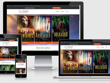 S. L. Harpel Book Author Wordpress Site