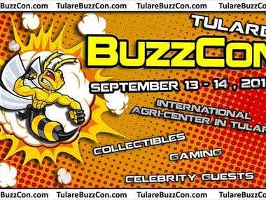 BuzzCon - Comic Invitation