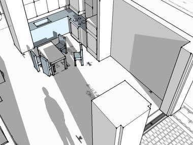 3D Rendering of floorplan 11/6/13