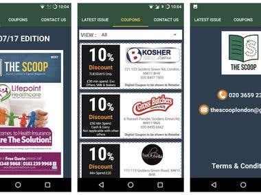 Magazine App - Android