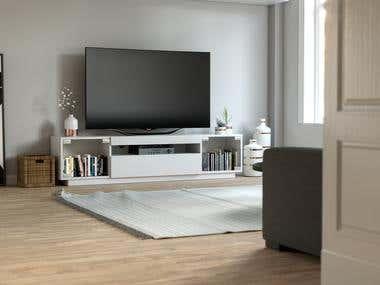 TV Cabinet Visualization