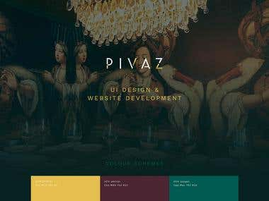 UI Design and Website Development - Restaurant Website