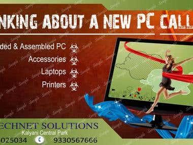 Advertising Banner For Technet Solutions