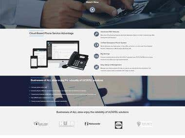 UltaTel Website