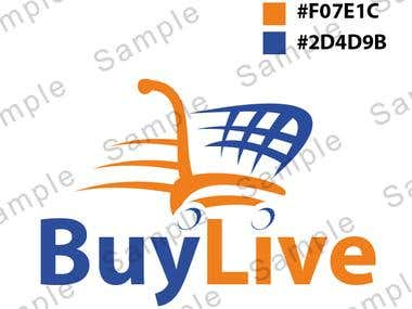 Logo Proposal For BuyLive