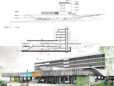 renovation of building